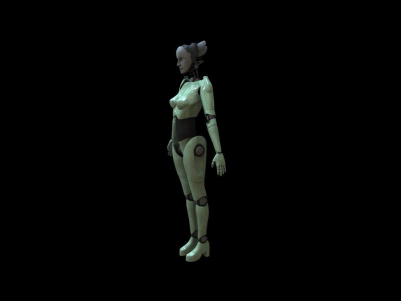 Model made in Maya